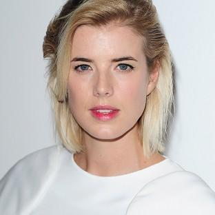 Agyness Deyn arriving at a gala screening of the film Pusher at the Hackney Picturehouse, London