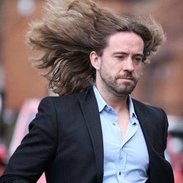Justin Lee Collins denies the harassment of his ex-girlfriend