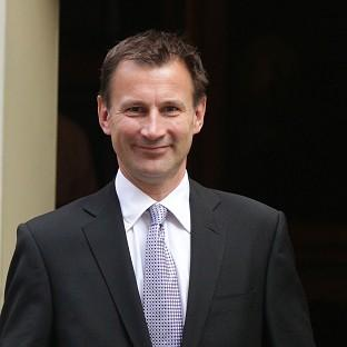 Health Secretary Jeremy Hunt favours a sharp tightening of abortion laws
