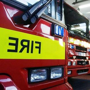 A 20-year-old man is being questioned on suspicion of committing arson with intent to endanger life in Walsall