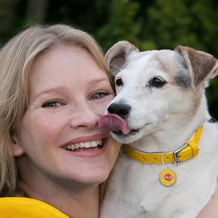 Joanna Page said she adores her pet pooch, Daisy