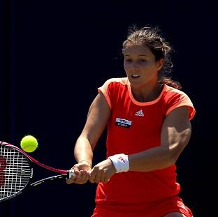 Laura Robson is seeded in a WTA tournament for the first time