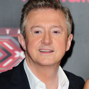 X Factor producer Richard Holloway was seen talking to Louis Walsh during Sunday ni
