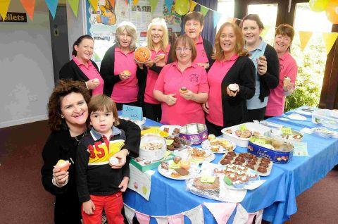 Cake stall raises money for Jon