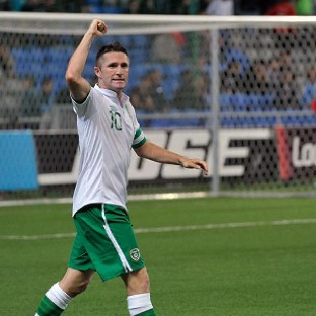 Robbie Keane is a doubt for Ireland's clash with Germany