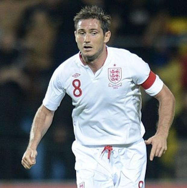 Salisbury Journal: Frank Lampard, pictured, and Ryan Bertrand have pulled out of England's squad ahead of the game against San Marino