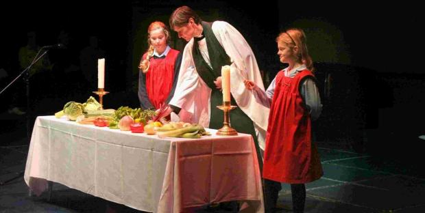 Harvest festival at Godolphin