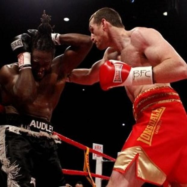 Salisbury Journal: David Price, right, knocked Audley Harrison, left, out after 82 seconds
