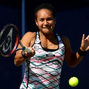 Heather Watson's victory moved her into the top 50 for the first time