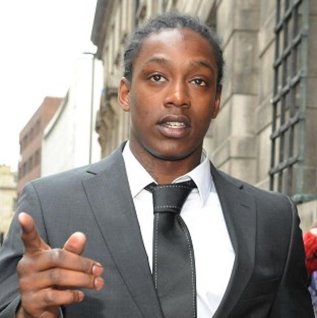 Nile Ranger received a 12-month conditional discharge and was told to pay each officer 750 pounds