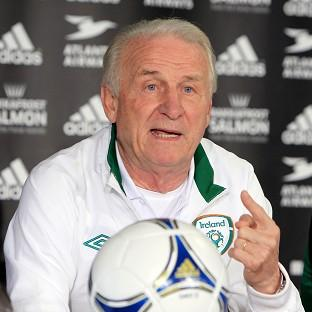 Ireland manager Giovanni Trapattoni faced a barrage of questions about his future at his press conference