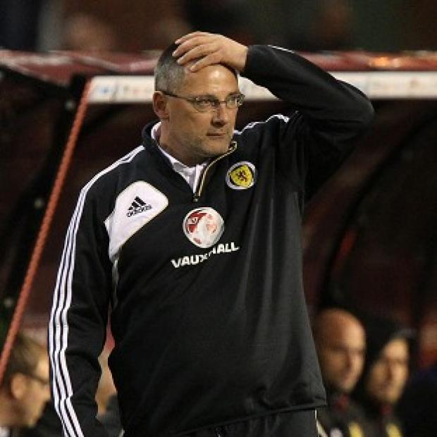 Craig Levein is under pressure after Scotland's poor recent results