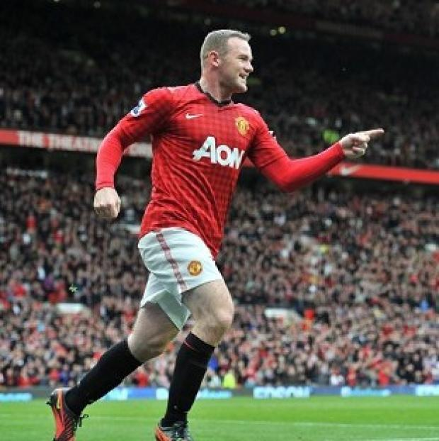 Wayne Rooney's double against Stoke took his club career goals tally to 200