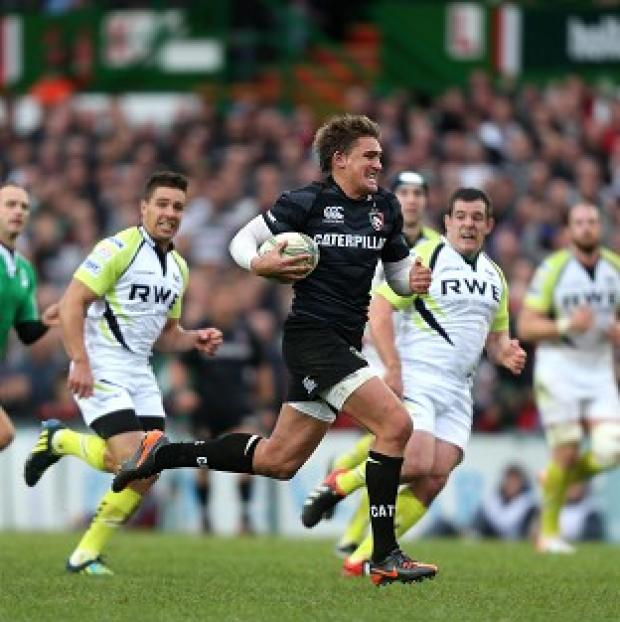 Toby Flood's 24-point haul helped Leicester to victory over Ospreys