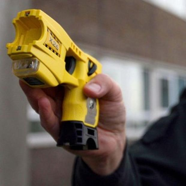 Solicitors are to launch a compensation bid for a blind man who was Tasered by police