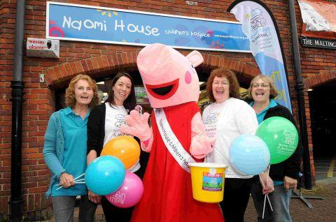 Naomi House shop celebrates birthday