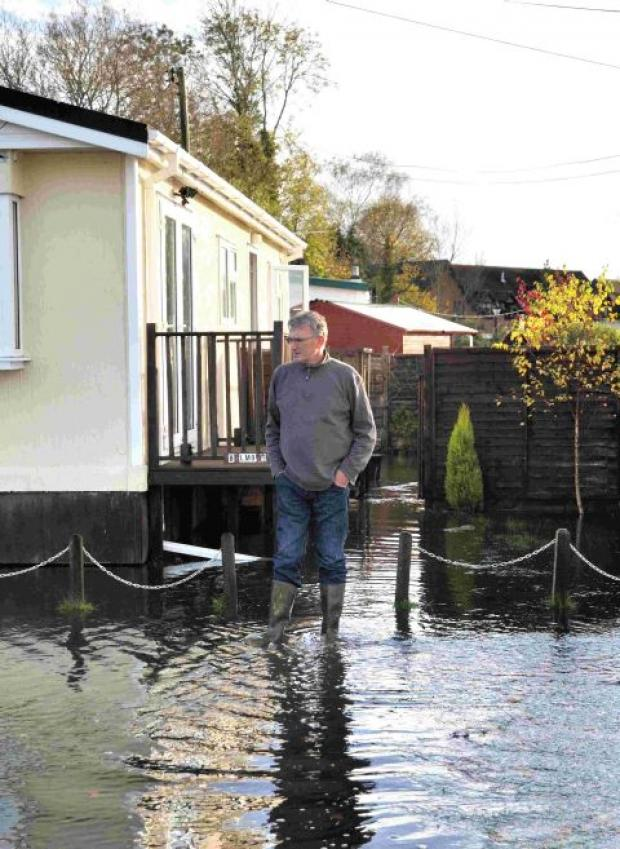 Complaints over flooding
