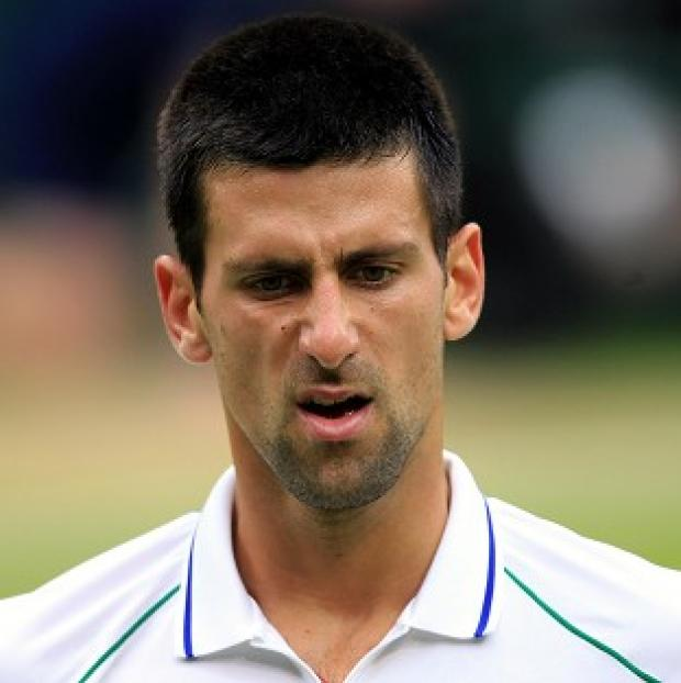 Novak Djokovic was eliminated from the Paris Masters, despite winning the first set 6-0
