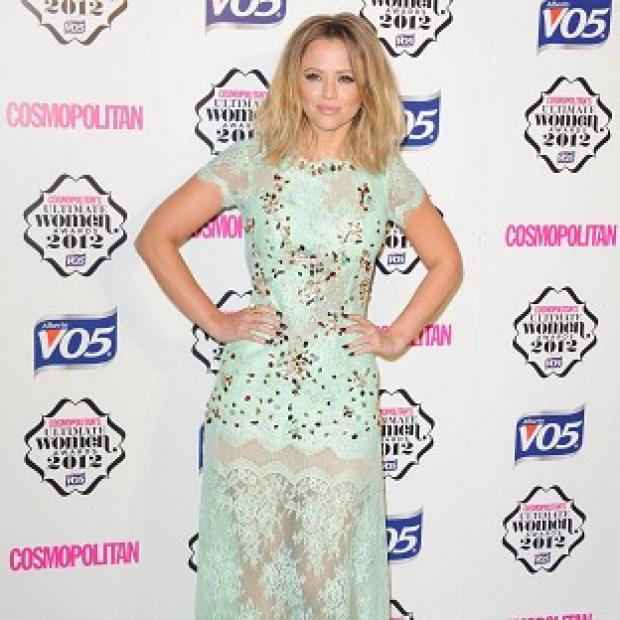Kimberley Walsh is dancing through the pain of a knee injury