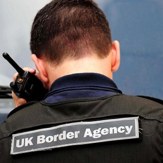 A UK Border Agency spokesman said the death is being investigated so it would be inappropriate to comment at this stage