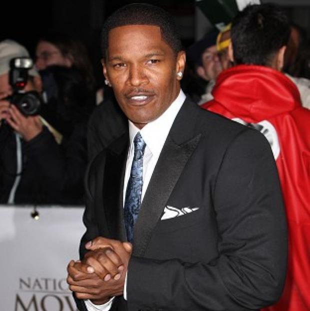 Jamie Foxx thinks the role of villain Electro is a good fit