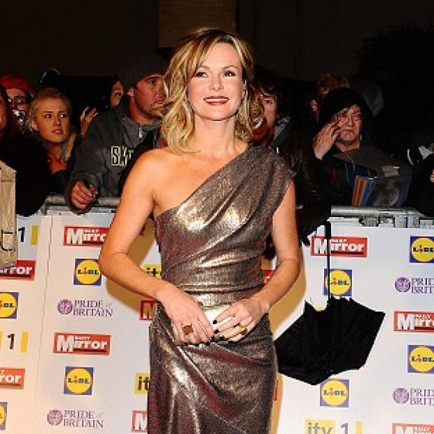 Amanda Holden revealed that she loved working on Superstar