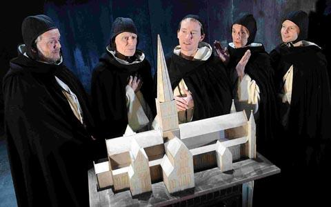 Salisbury Playhouse's production of The Spire. DC2376P4