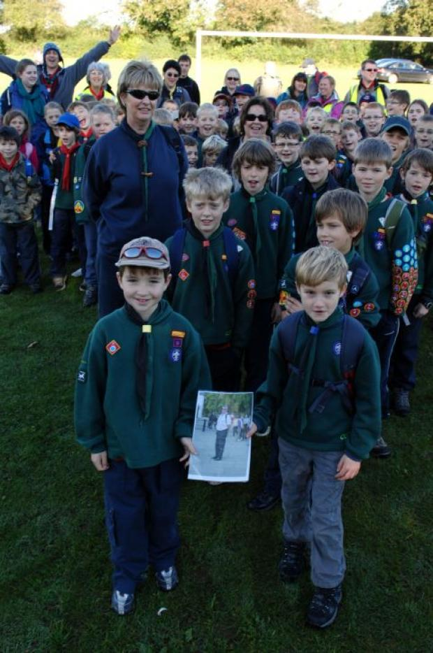 Cubs walk in memory of Dene