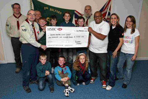 Durrington Funday supports Scout hut appeal
