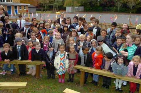 St Martin's celebrates with Jubilee Garden