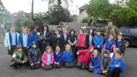 French visit for Hillside children