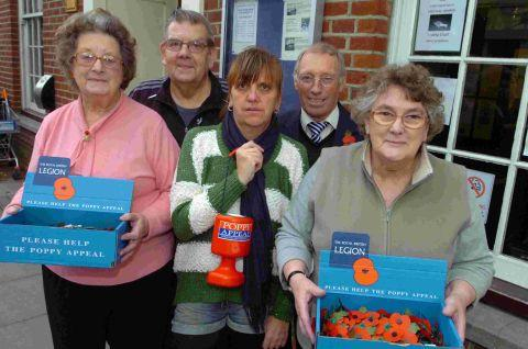 Outrage at Poppy Appeal collection ban
