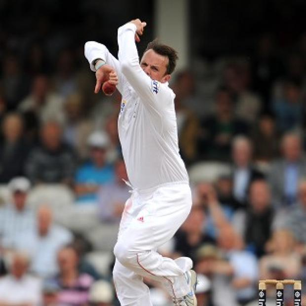 Salisbury Journal: Graeme Swann claimed his 14th five-wicket haul for England