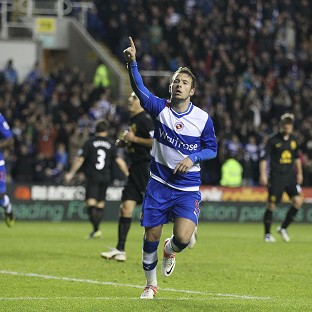 Adam Le Fondre earned Reading their first victory of the season