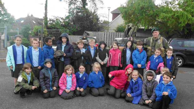 Pupils travel back to Second World War