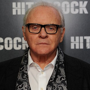 Sir Anthony Hopkins at the Premiere of Hitchcock at BFI Sou