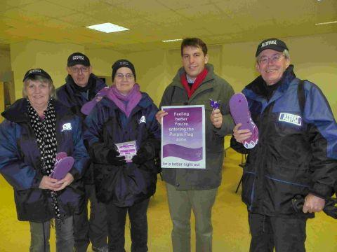 MP steps out with Street Pastors