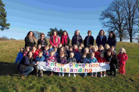 High praise for Dinton Pre-School