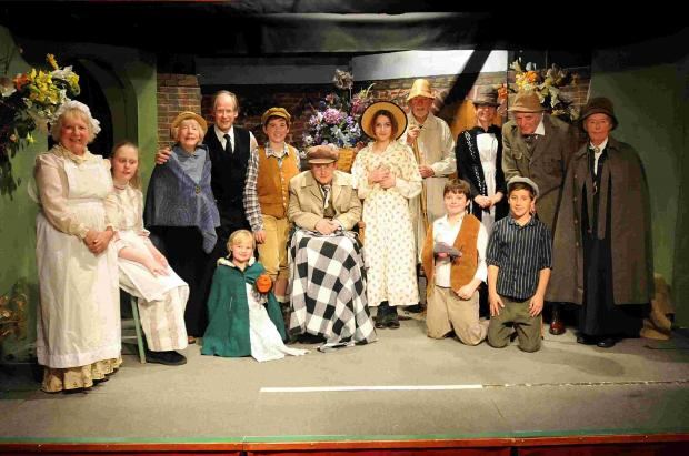 The Godshill Players perform The Secret Garden at the village hall