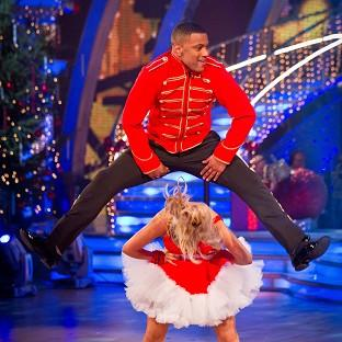 JB Gill is partnered with Ola Jordan for the Strictly Come Dancing Christmas special
