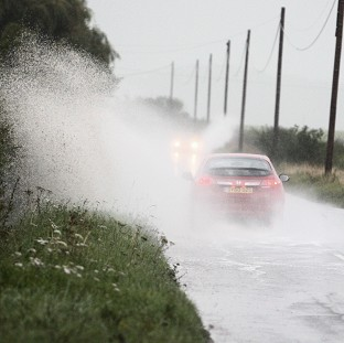 Heavy rain over the next few days will affect the festive getaway