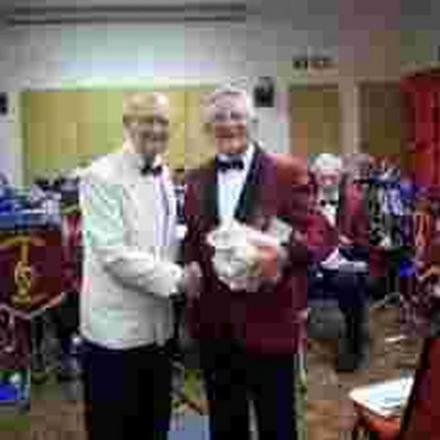 Bandsman retires after 46 years