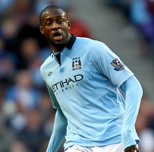 Yaya Toure could miss up to seven weeks of Premier League action at the African Nations Cup