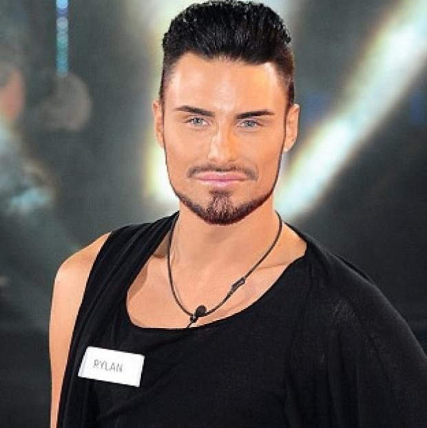 Rylan Clark arrives at the launch of Celebrity Big Brother 2013