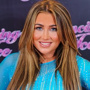 Lauren Goodger was reportedly told off for tweeting during Dancing On Ice