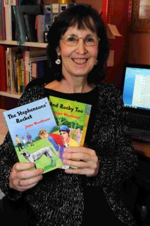 Author Jayne Woodhouse
