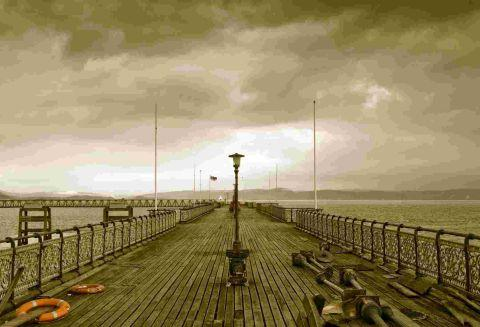 The Old Pier by Tony Oliver