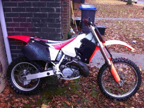 Motocross bike stolen in Larkhill