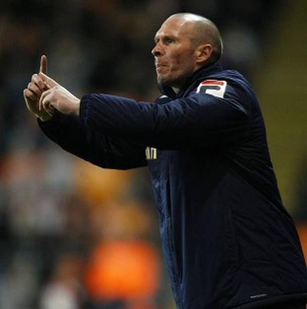 Manager Michael Appleton is free to discuss personal terms with Blackburn