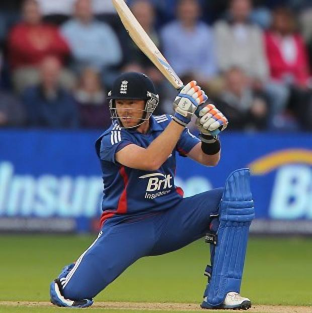 Ian Bell scored 85 as England posted 325 for four